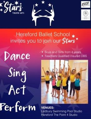 Stars Theatre Arts and Gymnastics & Hereford Ballet School